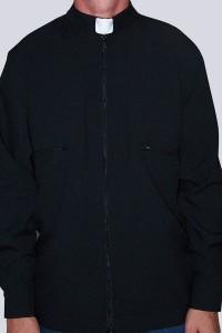 Bluza czarna B1 - tropik