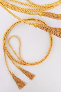 Cingulum frędzle złoty