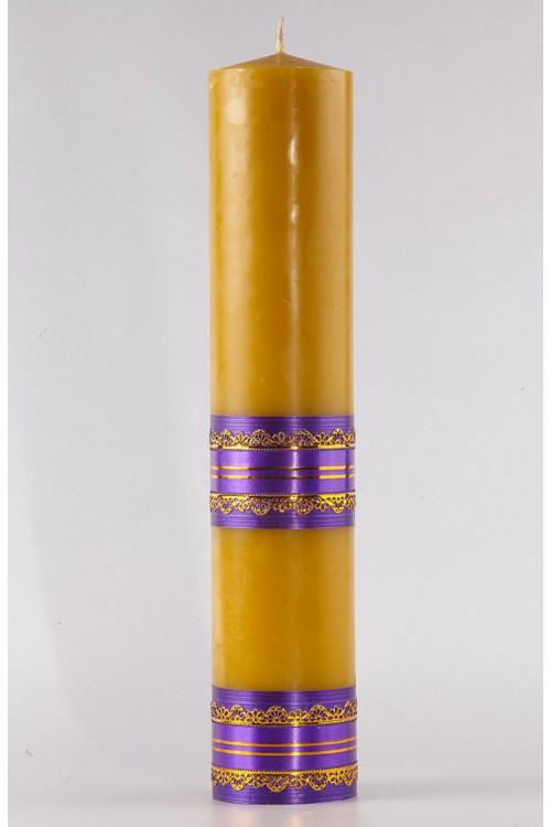 Świeca fiolet, duża [A1]