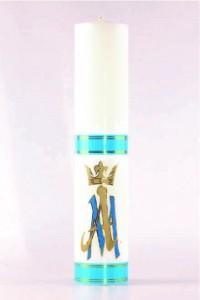 Świeca ołtarzowa - Maria, duża [O-19]