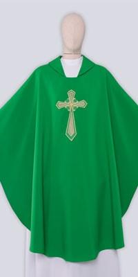 Ornaty Zielone z haftem